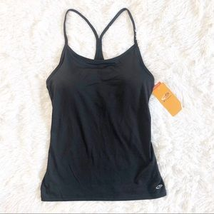 Champion by C9 Medium Black Racerback Active Tank